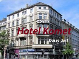 Hotel Komet, hotel near Savoy Theater Düsseldorf, Düsseldorf