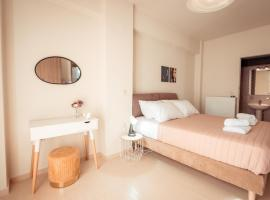 ⋆Harmony Deluxe Villa With View next to Chania⋆, hotel near Chania International Airport - CHQ,