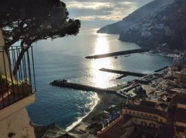 Maison de charme Amalfi sea view, apartment in Amalfi