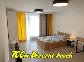 Przystań Letnica Apartamenty 700m plaża, hotel near Gdańsk Nowy Port Lighthouse, Gdańsk