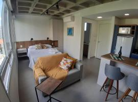 Studio contemporâneo em prédio novíssimo, apartamento em Porto Alegre