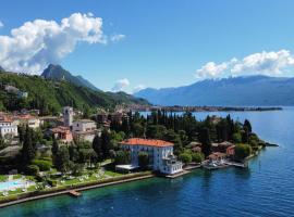 Hotel Bella Riva, hotell i Gardone Riviera