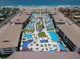 Apartamento em Resort à Beira Mar - Cupe Beach Living, pet-friendly hotel in Porto De Galinhas