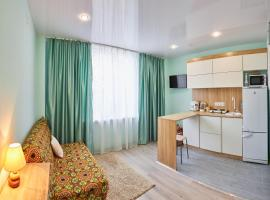 Квартира студия, apartment in Vityazevo