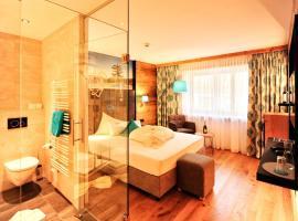 Hotel Garni Stefanie、イシュグルのホテル