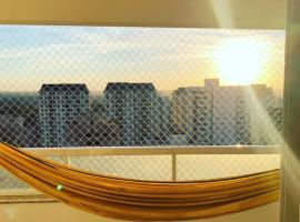 Apartamento mobiliado 2 quartos Setor Bueno, accessible hotel in Goiânia