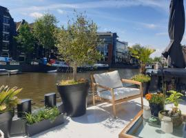 Luxurious 110m² 3br Houseboat in Amsterdam Centre!, boat in Amsterdam