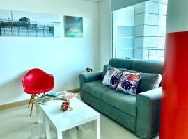 Hermoso aparta-hotel en Blue Gardens, apartamento en Barranquilla