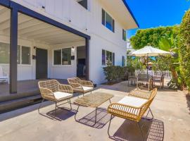 New Remodel, Convenient Ground Level, Outdoor Patio, villa in San Diego
