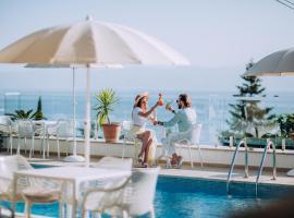 Vila Bisera – hotel w Ochrydzie