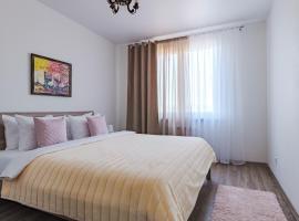 Двухкомнатные апартаменты с евроремонтом, hotel in Moscow