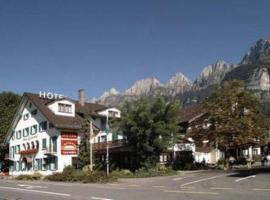 Hotel Churfirsten, hotel near Alt St. Johann-Sellamatt, Walenstadt