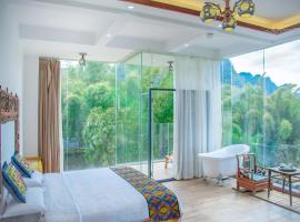 Bi Qi · River View Hotel, hotel en Yangshuo