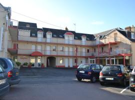 Hotel Eisenhower (ex King Hôtel), hotel near Bayeux's Train Station, Port-en-Bessin-Huppain