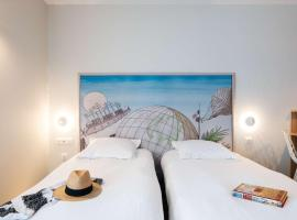 Best Western Plus Hôtel Littéraire Jules Verne - ex Karitza, hôtel à Biarritz