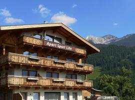 Apart Sportlife, hotel in Lermoos