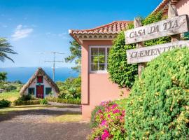 Casa da Tia Clementina, hotel near Santana's traditional houses, Santana