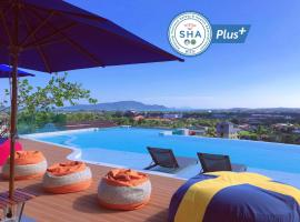 The Blue Hotel - SHA Plus, hotel in Chalong