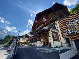 Boutique Hotel Beau-Séjour & Spa Superior, hotel in Champéry