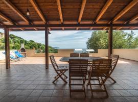 Ibisco, villa in Pisciotta