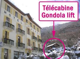 Hotel des Alpes, hotel in Brides-les-Bains