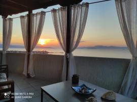 panoramic view little maisonette, διαμέρισμα στη Σκάλα