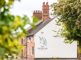 The Unicorn Inn, hotel near Calke Abbey, Newton Solney