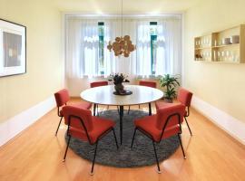 vonBehling Boutique Apartment mit 65zoll TV und Designerstücken, apartment in Halle an der Saale
