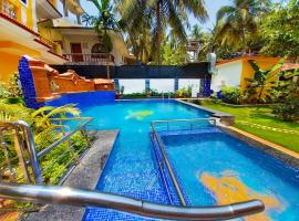 Casa Salvador, hotel with pools in Calangute