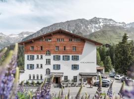 Hotel Alpensonne - Panoramazimmer & Restaurant, hotel in Arosa