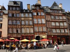 Hotel Des Lices, hôtel à Rennes