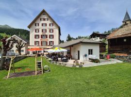 Hotel Stätzerhorn, hotel in Parpan