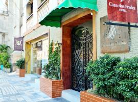 Hotel Casa Dos Frades, отель в Манаусе