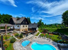 Plitvice Ethno House, B&B in Jezerce