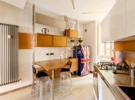 Ponte Milvio amazing appartament, hotel em Roma