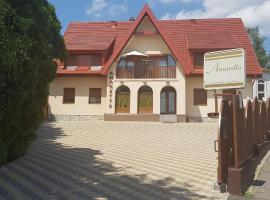 Amaretto Szállás, hotel Miskolctapolca Barlangfürdő környékén Miskolctapolcán