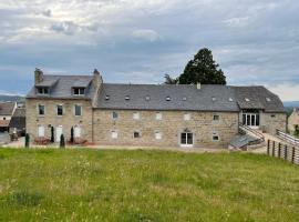 La ferme de l'Aubrac, hôtel à Aumont-Aubrac