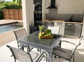 Appartement d'une chambre a Le lamentin avec piscine partagee jardin clos et WiFi, Ferienwohnung in Le Lamentin