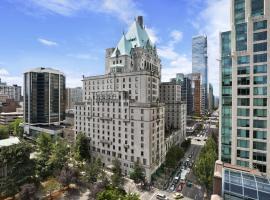 Fairmont Hotel Vancouver, отель в городе Ванкувер