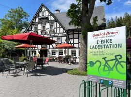 Gasthof Braun, hotel near Westfalenhang II Ski Lift, Schmallenberg