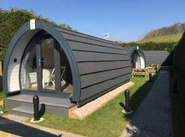 Low Greenlands Holiday Park - Glamping Pods, hotel near Burton-in-Kendal Services M6, Lancaster