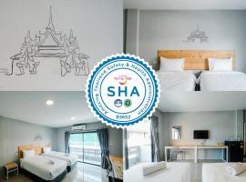 Fine Bed Hotel, hotel in Nonthaburi