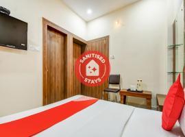 OYO 79654 Pacific Hotel, hotel in Jhārsuguda