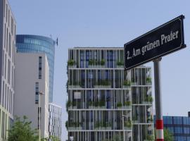 easy flat Green Prater, hotel near Ernst Happel Stadium, Vienna