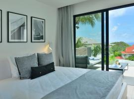 Rêve de Saint Barth - Vue Mer - Piscine & Jacuzzi - 6 pers, hotel in Anse des Cayes