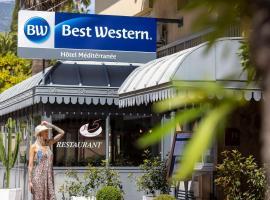 Best Western Hotel Mediterranee Menton, hotel in Menton