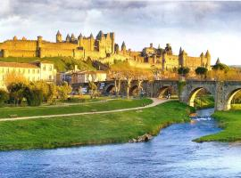 découvrez une ancienne maison de drapier du XVII siecle au coeur de bastide, hôtel à Carcassonne