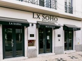 LX SoHo Boutique Hotel, hotel in Lisbon