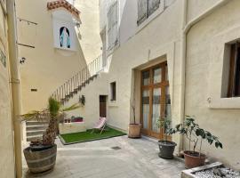 Des appartements au calme dans un immeuble historique, apartment in Béziers