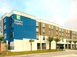 Holiday Inn Express - Gulfport Beach, an IHG Hotel, hotel near Gulfport-Biloxi International Airport - GPT, Gulfport